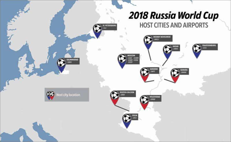 2018RUSSIAWORLDCUPHOSTCITIESANDAIRPORTS2 Global Risk