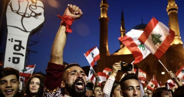 Lebanon protesters