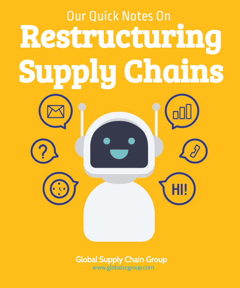 GLOBAL SUPPLY CHAIN GROUP - SUPPLY CHAIN RESTRUCTURING
