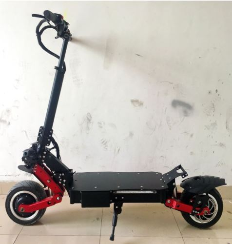 Fast Electric Scooter >> Sun 2400w 60v Two Wheel 11in Folding Off Road Electric Scooter Fast