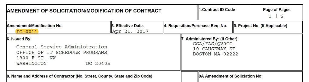 Contract Modification