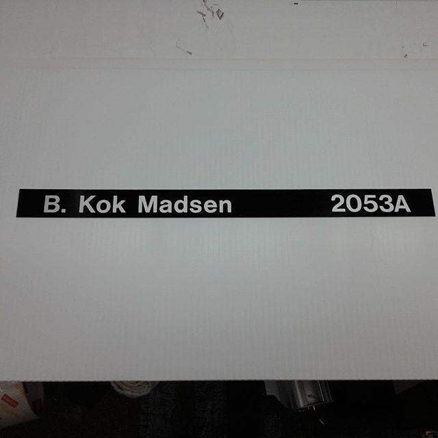 "Directory name slider 1.18"" x 16"""
