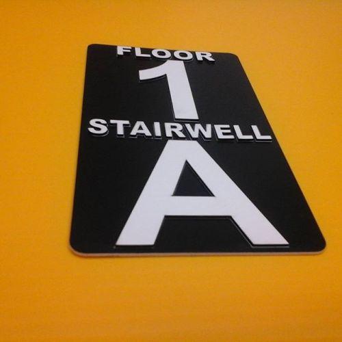 """4""""x7"""" raised laser cut letters"""
