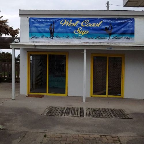 Beach business banner