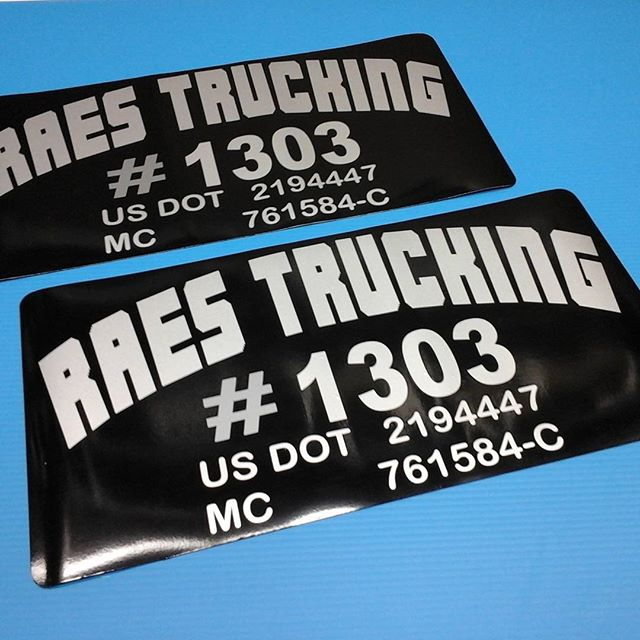 Silver Black Truck Magnets