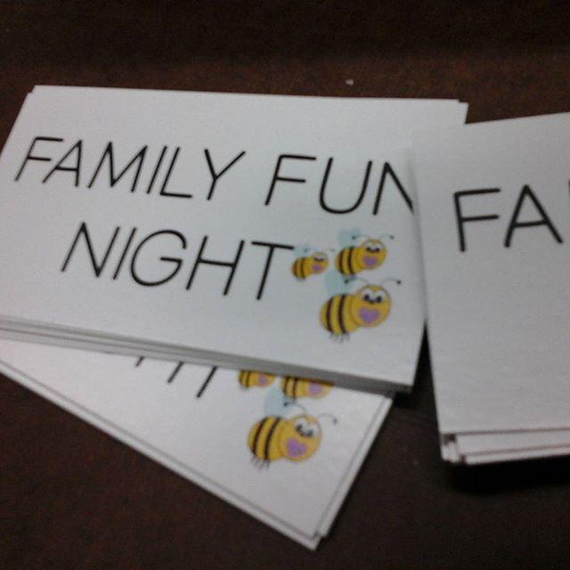 Fun Night Cards