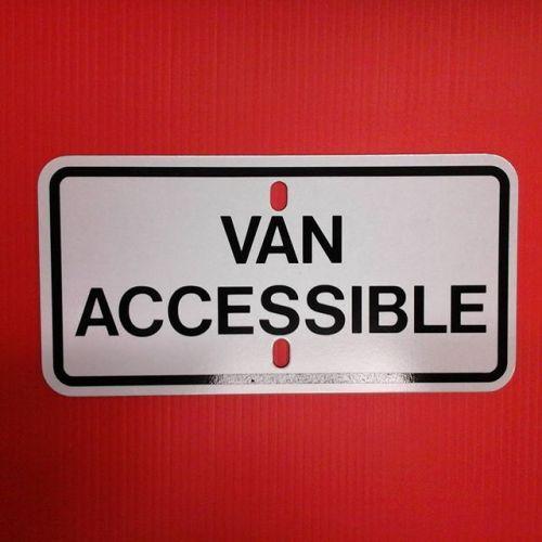 Van Accessible Sign