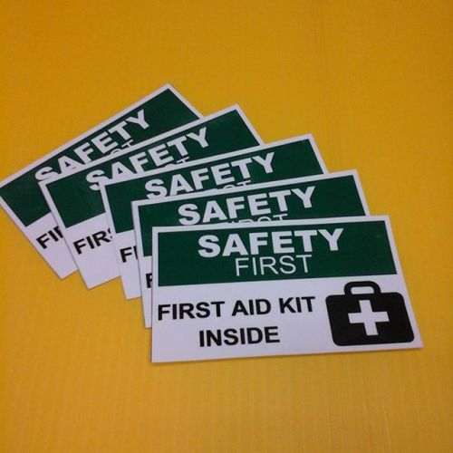 Decals - First Aid Kit
