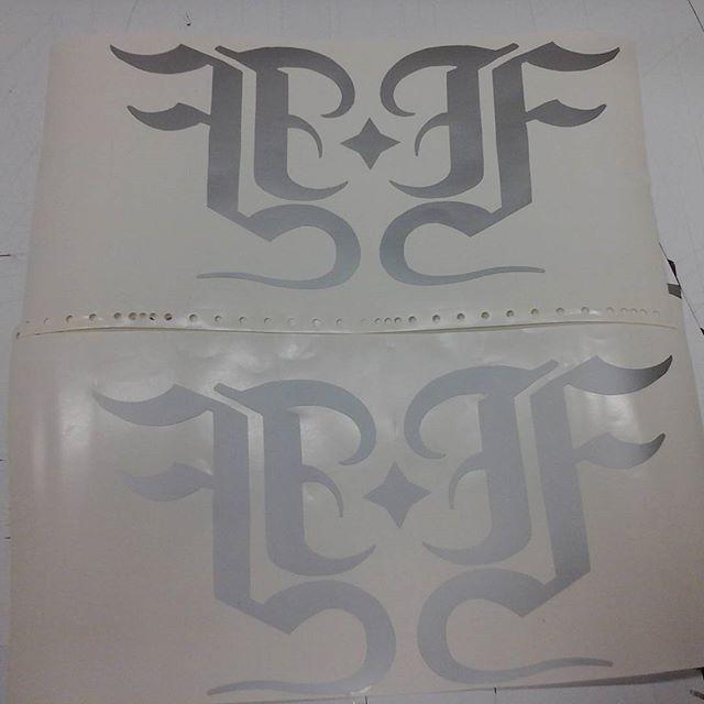 Vinyl Cut Logos