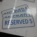 Aluminum Parking Signs