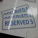 Aluminum Parking Signs