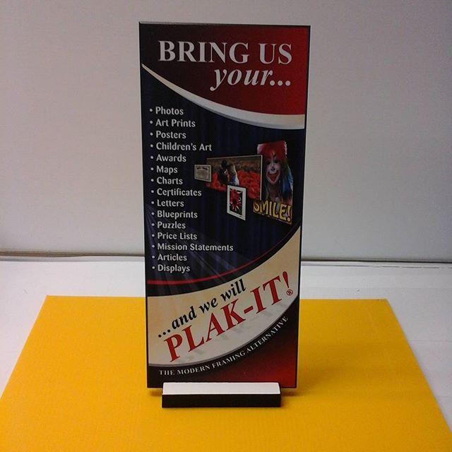 Plak-It base & print