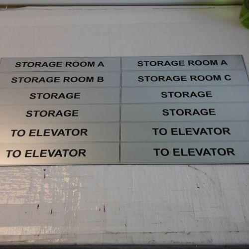 Laser door plates #4