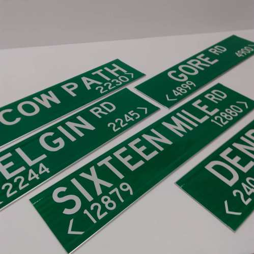 911 Road Signs