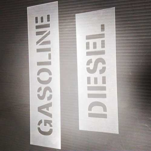 Fuel Stencils