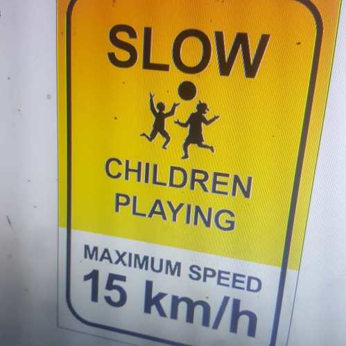 Children Playing Signs