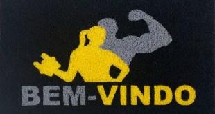 Tapetes personalizados para lojas de artigos esportivos