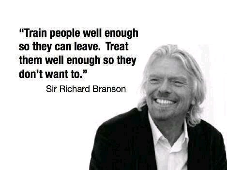 Richard Branson Training
