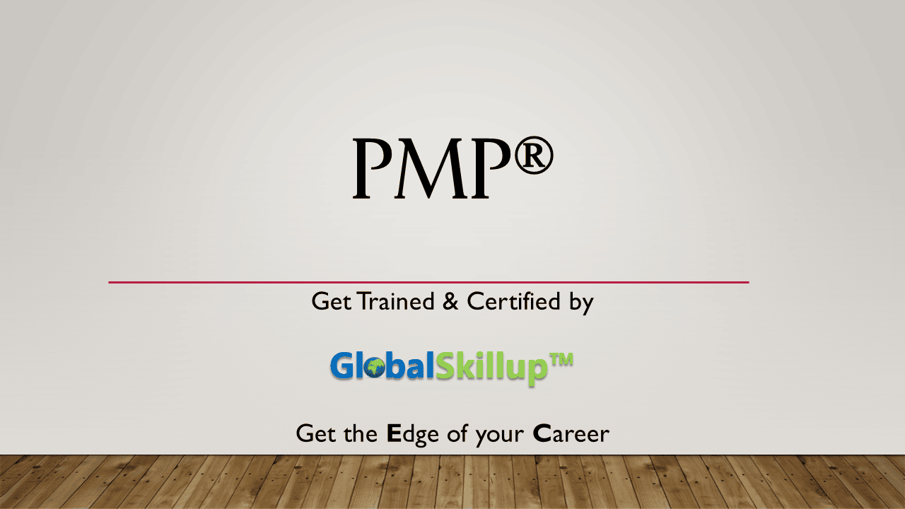 Pmp Training By Globalskillup For Pmi Pmp Certification