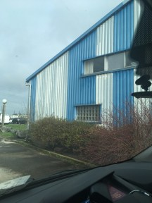 The Dunkirk supply warehouse
