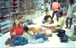 India 1994 saree shopping and limca