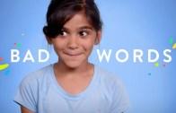 100 kids say bad words