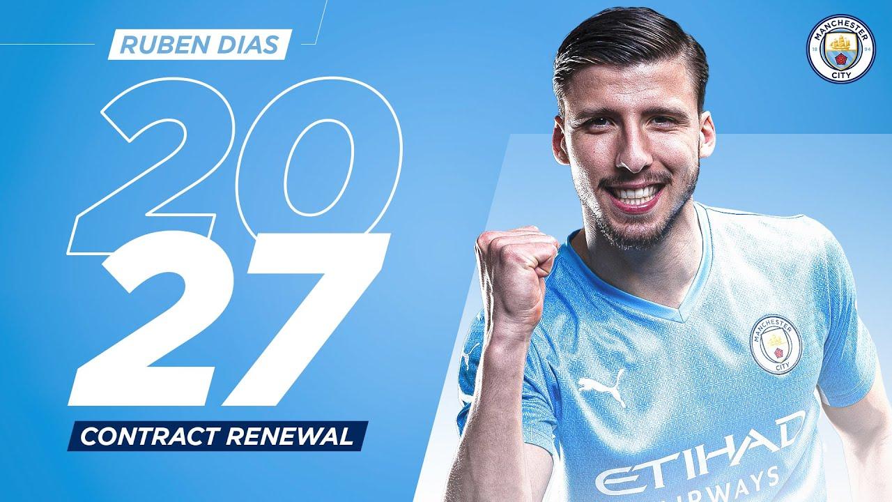 Rùben Dias new contract