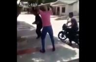 Gun fight in Brazil 😳