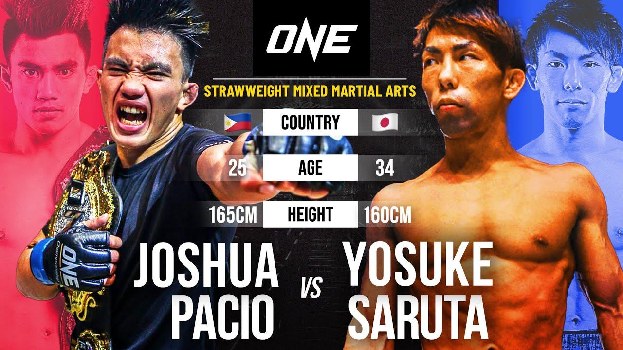 Joshua pacio vs. Yosuke saruta
