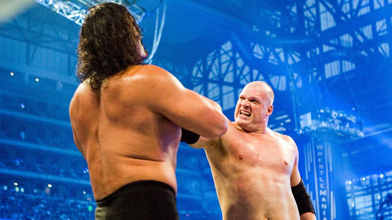 Legendary match Kane vs. Great Khali: WrestleMania 23