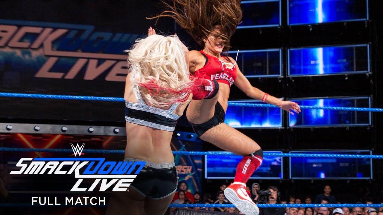 Lynch, Naomi & Bella vs. Natalya, Carmella & Bliss