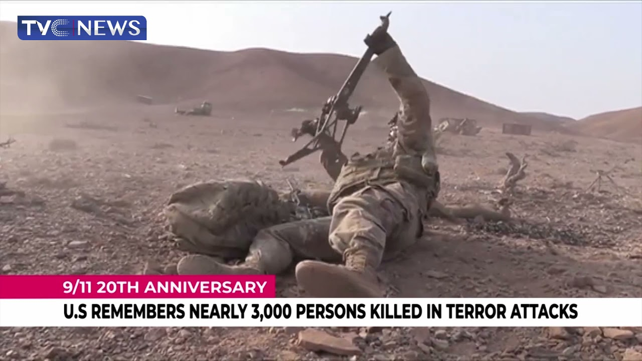 U.S remembers nearly 3,000 persons killed in terror attacks
