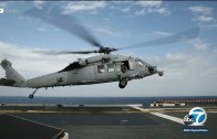 Us navy chopper crashed 4 people missing
