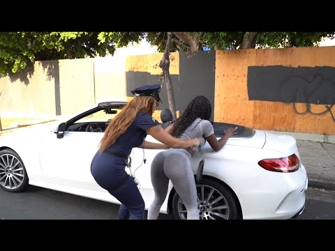 """ROOKIE COP IVANA MISBEHAVE"""" OH YOU TRIED IT!!"""