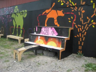 Wild Benches at Roskilde Festival