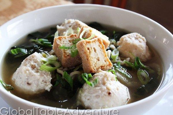 Indonesian and Timorese Meatballs | Chicken Bakso / Baso ...