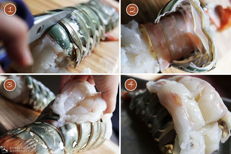 Roasted Lobster Tails with Coconut Curry Dipping Sauce ...