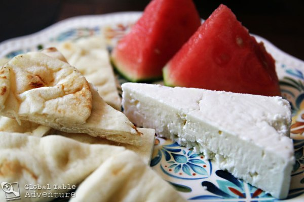 Jordanian snack | 5 Global Recipes to dress up watermelon