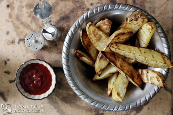 Grilled Island Fries | 21 of the World's best grilled eats.