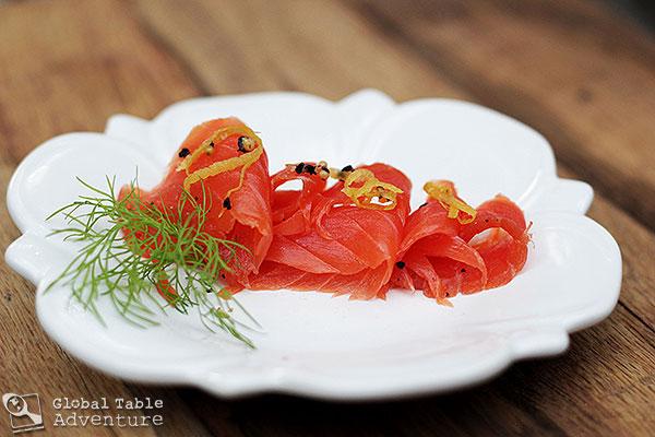 Dill lemon pepper gravlax gravlaks global table adventure - Norwegian cuisine recipes ...