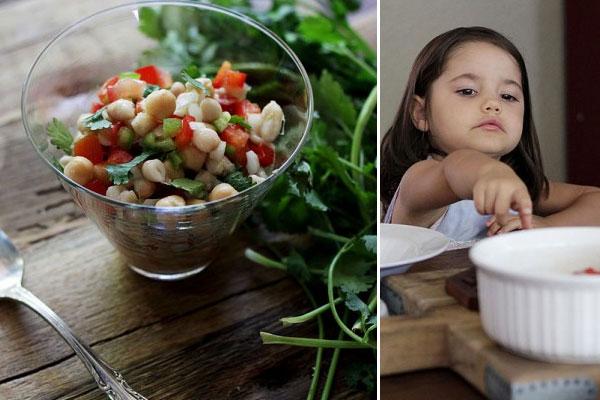 Pakistani Mixed Bean Salad | Global Table Adventure
