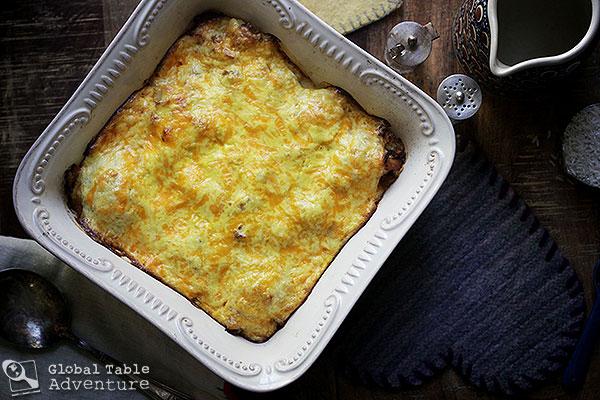 Transylvanian Cauliflower Casserole with Cheese | Global ...