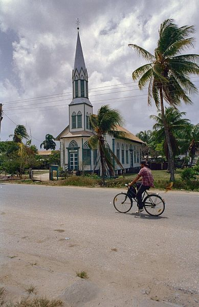 Colonial history / Churches: Church Front view by Service for Cultural Heritage
