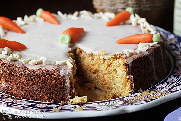 Almond Carrot Cake | Aargauer Rüeblitorte