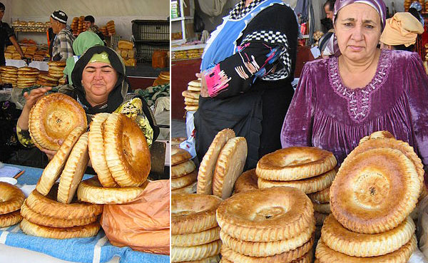 Bread Market in Dushanbe, Tajikistan. Photos by Mr. Gadi Zafrir.