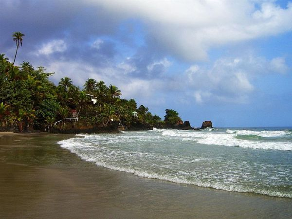 Blanchisseuse Beach Trinidad. Photo by Andy Truello.