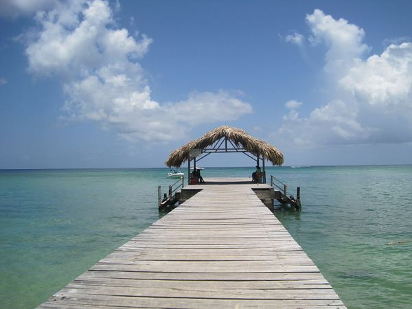 Pigeon Point jetty, Tobago, Trinidad and Tobago, West Indies, Caribbean. Photo by Kp93.