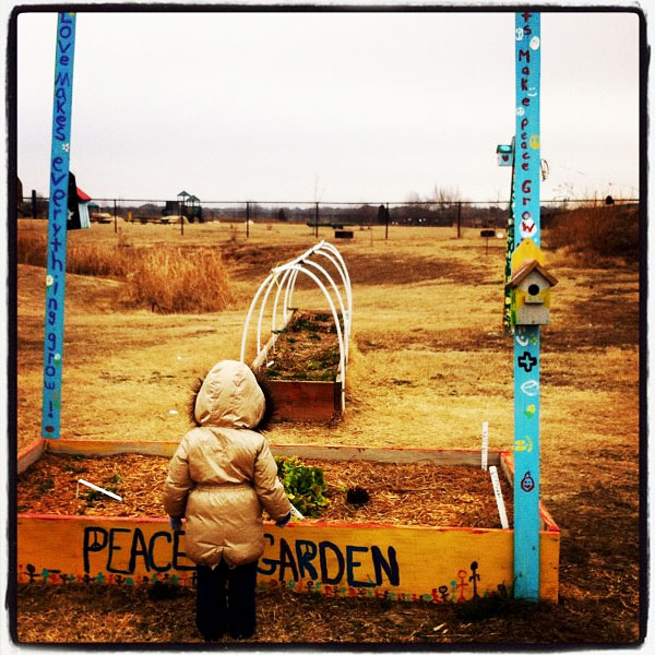 Ava and the Peace Garden