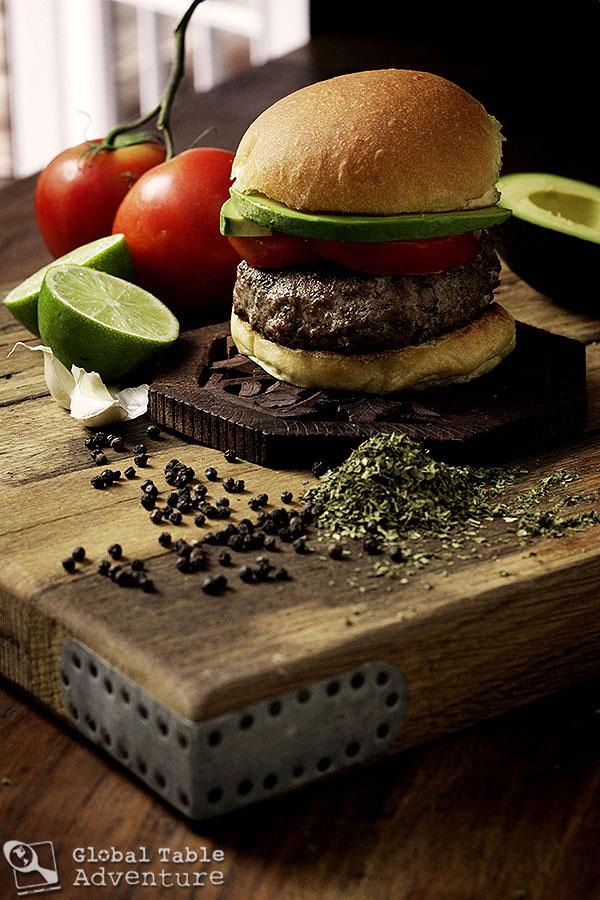 Carne Asada Burger | The World in 12 Burgers