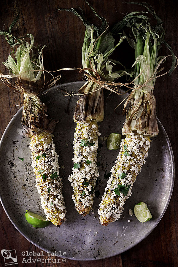 Spiced Elote | Mexican corn on the cob | Celebrate Corn season with 20 dishes from around the world